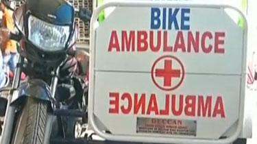 印度:男子發明急救摩托車