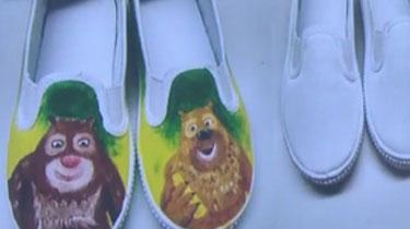 巧手畫鞋 創意滿分