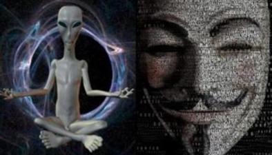 """國際黑客組織""""匿名者"""":NASA將公布發現外星人"""