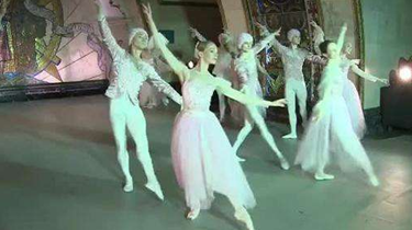 """俄地鐵站上演""""芭蕾之夜"""" 遊客飽眼福"""