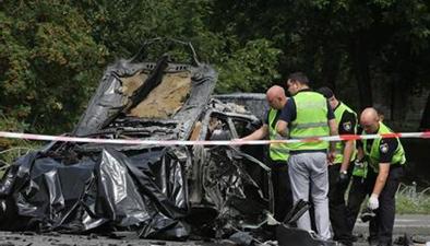 烏克蘭:基輔發生汽車爆炸 國防部情報局高官喪生