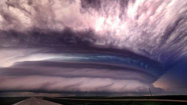 風暴追逐者拍震撼極端天象