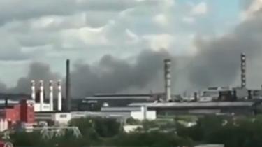 難忍!俄垃圾填埋場著火 毒氣濃煙蔓延數公裏