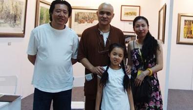 著名畫家史國良願資助殘疾考生
