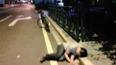 江蘇徐州:行竊之前先痛飲 得手之後醉街頭