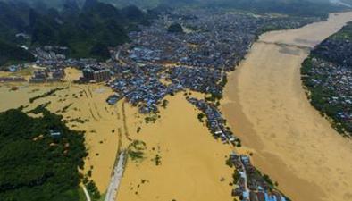 湖南:關注南方汛情省內四大河流 三條超警