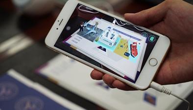 錄取通知書加入AR技術 動態展示學校全景