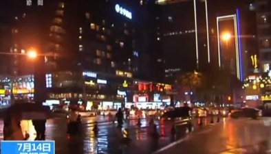 四川成都:遭遇入伏後最強短時強對流天氣