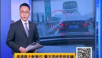高速路上射彈弓 警方尋找受損車輛