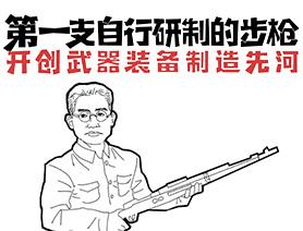 第一支自行研制的步槍:開創武器裝備制造先河
