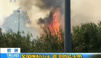 歐洲:多國燃起山火 高溫助長火勢