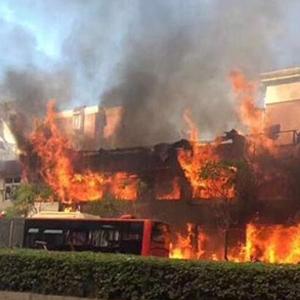 杭州一店鋪發生爆燃事故 已致2人死亡55人受傷