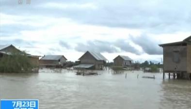 緬甸:持續降雨多地洪災 8萬人受災