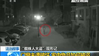 """法治故事:""""蜘蛛人大盜""""現形記"""
