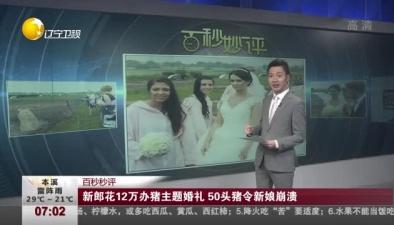 新郎花12萬辦豬主題婚禮 50頭豬令新娘崩潰