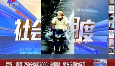 調閱1250個監控7000小時視頻 警方迫使他自首