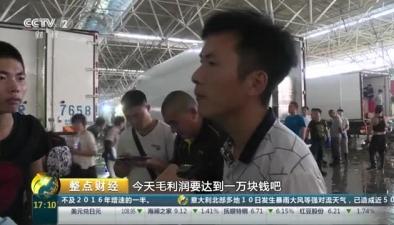 """山東:蘇北螃蟹""""搶灘""""青島"""