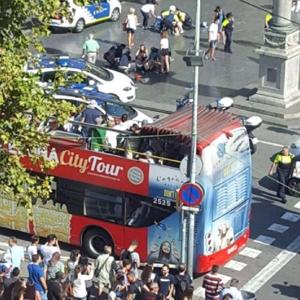 """""""伊斯蘭國""""宣稱制造了巴塞羅那恐襲"""