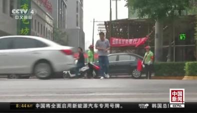 陜西西安:出租車斑馬線前不讓人 或被取消營運資格