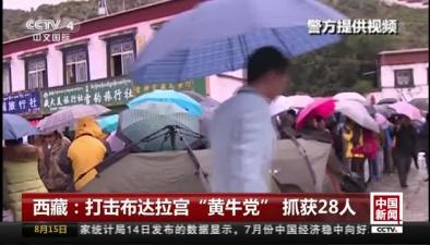 """西藏:打擊布達拉宮""""黃牛黨"""" 抓獲28人"""