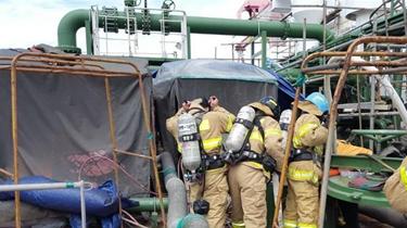 韓國一造船廠爆炸致4人喪生