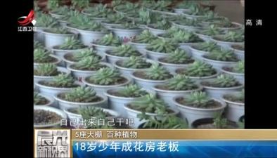 5座大棚 百種植物:18歲少年成花房老板