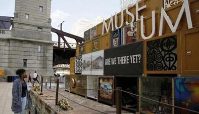 芝加哥河上的浮動博物館