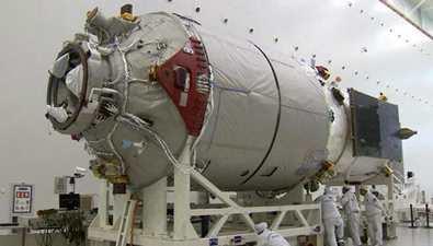 天舟一號完成自主快速交會對接