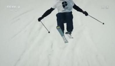 極限滑雪 雪地飛舞