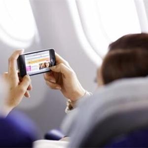 [今日關注]終于飛機上可以玩手機了