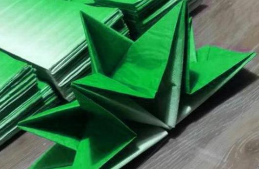 折疊紙巾 方法多多