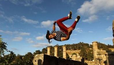 全球跑酷高手齊聚希臘