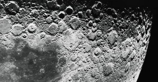 """月球地下有50公裏長""""隧道"""""""