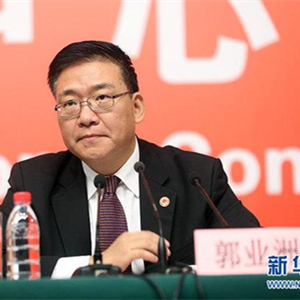 [十九大現場聲]郭業洲:全方位、寬領域、多層次的政黨外交新格局已經形成