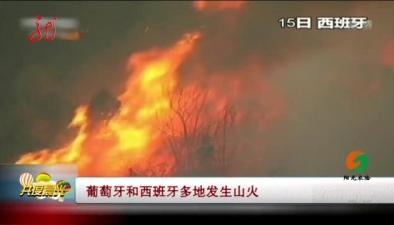 葡萄牙和西班牙多地發生山火