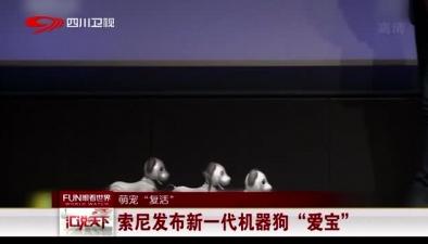 """萌寵""""復活"""":索尼發布新一代機器狗""""愛寶"""""""