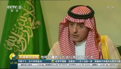 """沙特外交大臣:反腐""""零容忍"""" 無人能""""免疫"""""""