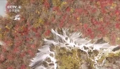 四川九寨溝景區首次推出空中觀光旅遊