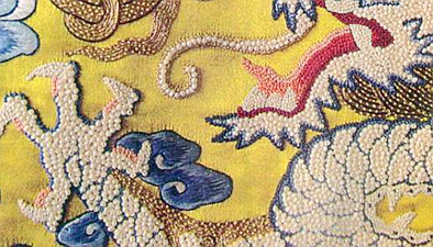 百年龍袍現身蘇州 繡有十萬珍珠