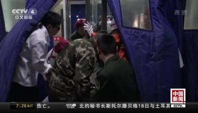 山西:男孩脖子卡玻璃門縫 消防緊急救援