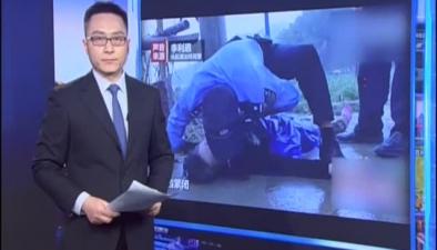臺州一阿婆墜河 民警跪地半小時心肺復蘇搶救