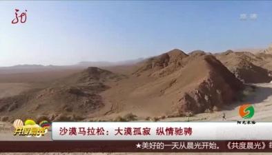 沙漠馬拉松:大漠孤寂 縱情馳騁