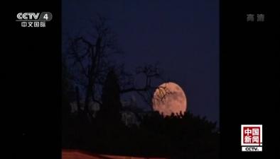 今年最大滿月 你看到了嗎