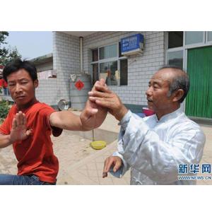 河北河間農民拳師李大強42年義務授徒兩千余人