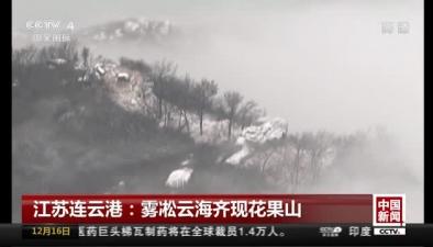 霧凇雲海齊現花果山