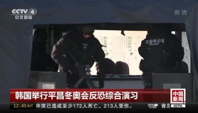 韓國舉行平昌冬奧會反恐綜合演習
