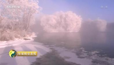 黑龍江遜克霧凇美景