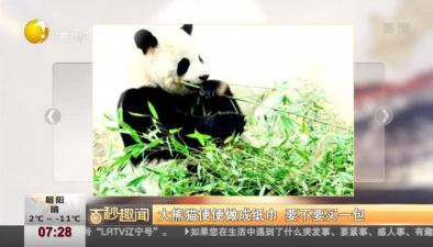 大熊貓便便做成紙巾 要不要買一包