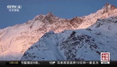 """瑞士:採爾馬特實施""""控制爆破""""引發雪崩清"""