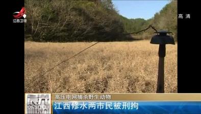 高壓電網捕殺野生動物:江西修水兩市民被刑拘